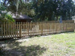 wood fence in tampa