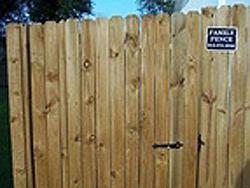 Wood Fencing 1