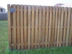 Wood Fencing 12