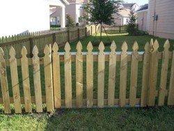 Wood Fencing 16