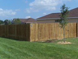 Wood Fence In Tampa Fl Family Fence Company Of Florida