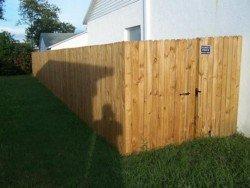 Wood Fencing 8